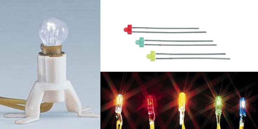 Universele lampjes en leds