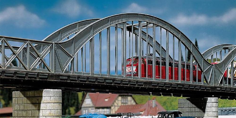 Spoorbruggen en pijlers