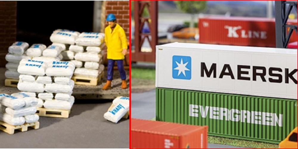 Containers en laadgoed