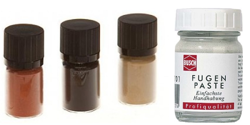 Pigmentpoeders en kleurpasta's