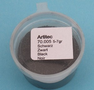 Artitec 70.005 - Zwart (modelbouwpoeder)  ---