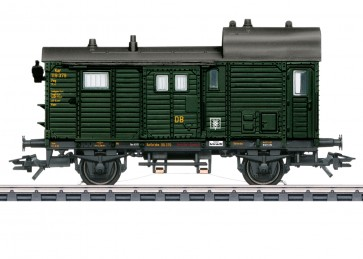 Marklin 46986 - Goederentrein-bagagewagen Pwg DB