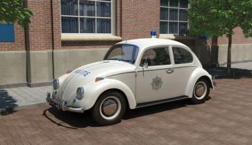 Revell 07666 - VW Käfer Police NL OP=OP!