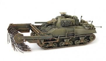 Artitec 387.117 - US/UK Sherman M4A4 'Flail'  ready 1:87