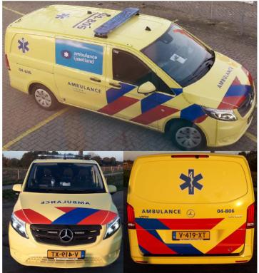 Busch 511141 - Mercedes-Benz Vito Ambulance NL