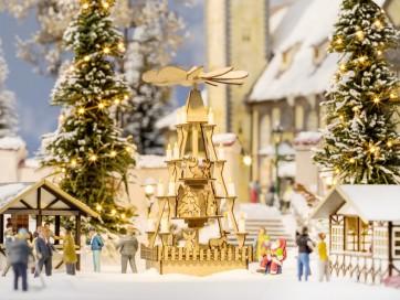 Noch 14395 - Weihnachtsmarkt-Pyramide