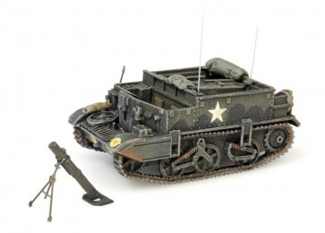 Artitec 387.125 - UK Universal carrier met mortier  ready 1:87