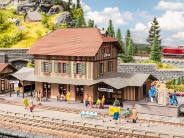 "Noch 66007 - Bahnhof ""Honau"""