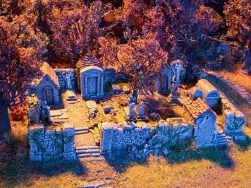 Noch 58585 - Grusel-Friedhof