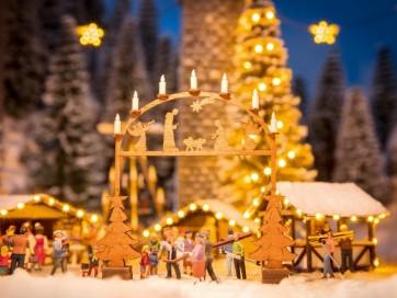Noch 14391 - Weihnachtsmarkt-Eingangsbogen