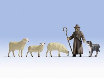 Noch 17901 - Schafe und Schäfer