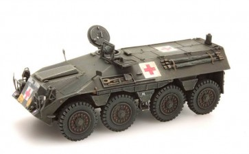 Artitec 387.147 - NL DAF YP 408 PW-GWT pantserw. gewondentransport  ready 1:87