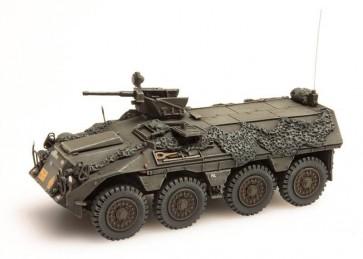 """Artitec 387.151 - NL DAF YP 408 PWI-GR """"battle ready"""" camo netten + bepakk.  ready 1:87"""
