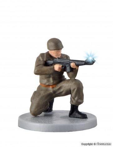 Viessmann 1531 - H0 Soldat, kniend