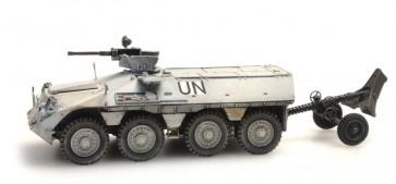 Artitec 387.184 - NL DAF YP-408 Pantserwagen mortier, Brandt-Rayé UNIFIL  ready 1:87