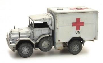 Artitec 387.195 - NL DAF YA 126 gewondentransport UNIFIL   ready 1:87