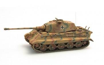 Artitec 387.19 CM - WM Tiger II Hensch.Zimm. geel, camo  ready 1:87