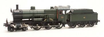 Artitec 21.225.03 - NS 3734 olijfgroen 3-as tender (45-49), LokPilot V4.0 WS  train 1:87
