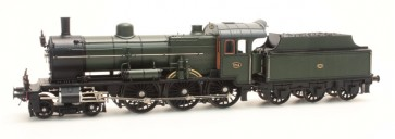 Artitec 24.225.03 - NS 3734 olijfgroen 3-as tender (45-49), LokPilot V4.0 DC  train 1:87