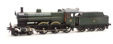 Artitec 24.225.04 - NS 3760 olijfgroen 3-as tender (50-58), LokPilot V4.0 DC  train 1:87