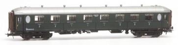 Artitec 20.260.03 - Ovaalramer AB 7201, groen, zilver dak , RIC, IIa-b  train 1:87