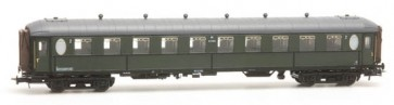 Artitec 20.267.03 - Ovaalramer B 7104, olijfgr, grijs dak, RIC, IIIb  train 1:87