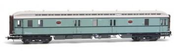 Artitec 20.296.01 - Postwagen  P 7017, turquoise, wit dak, IIIa  train 1:87 OP=OP!