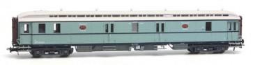 Artitec 20.296.02 - Postwagen  P 7901, turquoise, wit dak, IIIa  train 1:87 OP=OP!