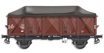 Artitec 20.302.02 - GTU GRMW 40039, bruin, IIIb  train 1:87