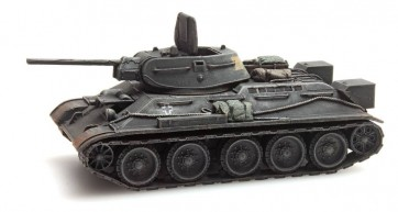 Artitec 6870022 - USSR T34 - 76mm Kriegsbeute Wehrmacht grijs  ready 1:87