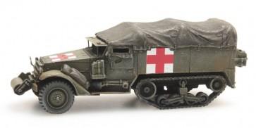 Artitec 387.232 - US HALFTRACK M3A1 Ambulance  ready 1:87