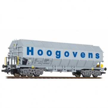 "Liliput L235561 - Special transport wagon, type Uacos, ""Hoogovens"", DB, Ep.V"