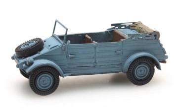 Artitec 387.236 - Kübelwagen VW 82 blauw CIVIEL  ready 1:87