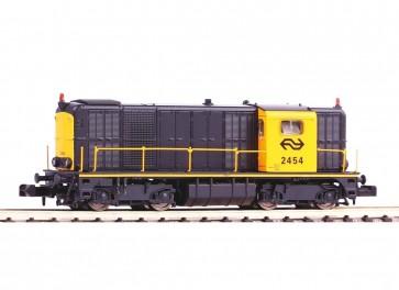 Piko 40422.D - N-Dieselloc NS-2454 geel-grijs IV  DIGITAAL