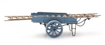 Artitec 387.24 BL - Ladderwagen blauw  ready 1:87