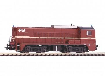Piko 52688 - NS-dieselloc 2210 roodbruin IV, DC-SOUND OP=OP!