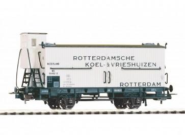 Piko 58930 - Ged. Güterwagen Koel- en Vrieshuizen NS III m. Bh.