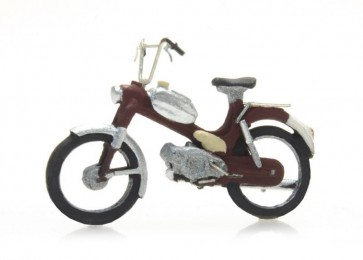 Artitec 387.266 - Brommers: Puch rood  ready 1:87