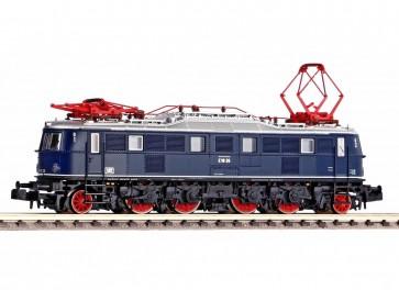 Piko 40307 - N-E-Lok BR E18 DB blau mit Stiellampen III + DSS PluX16
