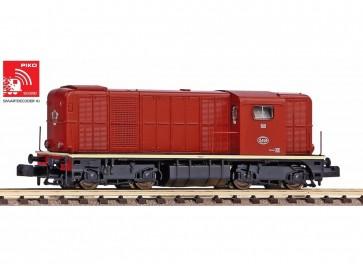 Piko 40427 - N-Diesellok/Sound Rh 2400 rotbraun L-Licht NS III + Next18 Dec.