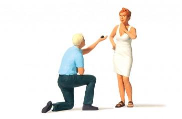 Preiser 44932 - 1:22,5 Huwelijksaanzoek