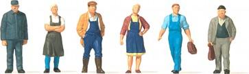 Preiser 75056 - 1:120 Figuren in de Dorpsstraat