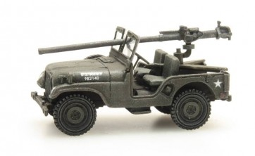 Artitec 387.307 - US M38 Jeep + 106mm AT Gun   ready 1:87
