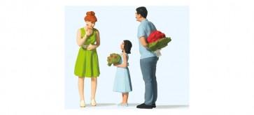 Preiser 44934 - 1:22,5 Verrassing met bloemen