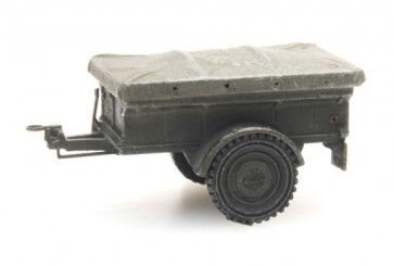 Artitec 1870111 - NL aanhanger Nekaf 1/4 ton  kit 1:87