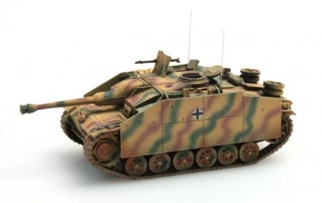 Artitec 387.49 CM - WM StuG III Ausf G Saukopf (1944) camo  ready 1:87