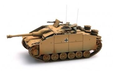 Artitec 387.49 YW - WM StuG III Ausf G Saukopf (1944) geel  ready 1:87