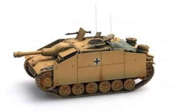 Artitec 387.50 YW - WM StuG III Ausf G Sturmhaubitze geel  ready 1:87