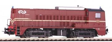 Piko 52686 - Diesellok Rh 2200 NS rotbraun mit Blinkl. IV + DSS PluX22
