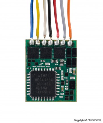 Viessmann 5296 - N Lokdecoder mit Kabel